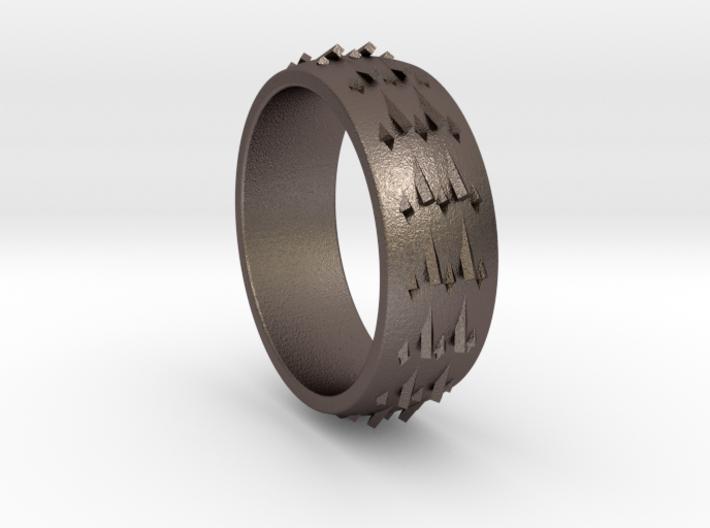RidgeBack Ring Size 6 3d printed