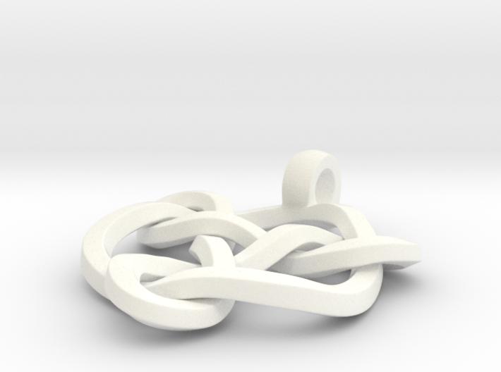Celtic Knot Pendant 01 3d printed