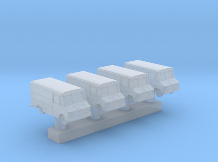 1:600 Scale USAF Crew Van 3d printed