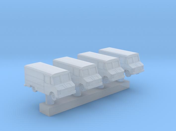 1:400 Scale USAF Crew Van 3d printed