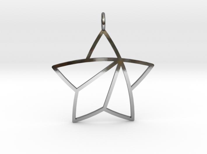 Achievement Star Pendant 3d printed