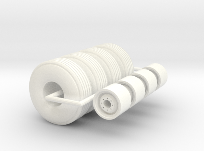 1/64 12L-15 implement tire 3d printed