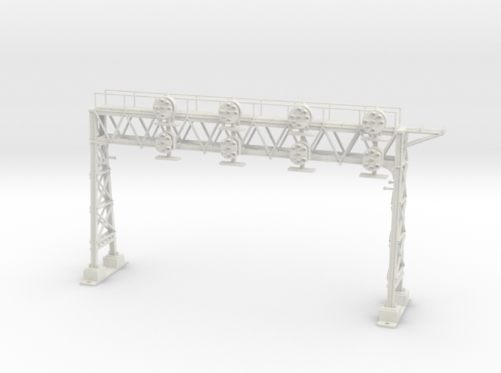 HO Scale PRR W-signal LATTICE 4 Track 3d printed
