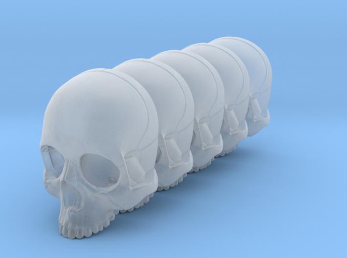 Bsi-skull-human-15mm-nojaw 023 3d printed