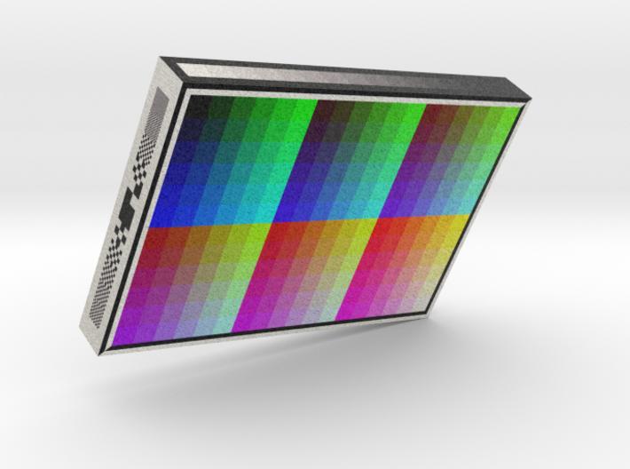 5 in 1 Sandstone Color Chart Sample - M2 3d printed