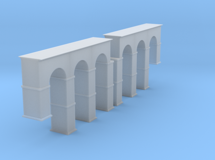 Arched Supports Z Scale 3d printed