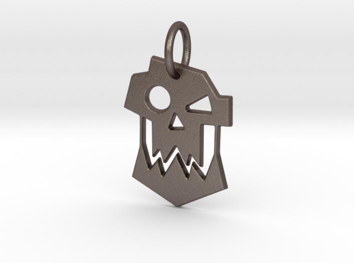 Ork Keychain 3d printed