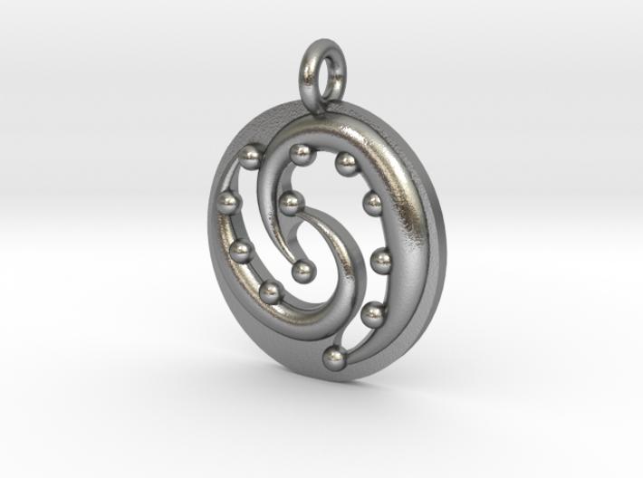 Celtic Flow Pendant 3d printed