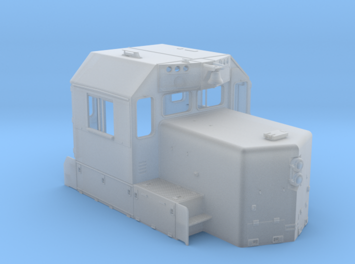 """CA0026 CPR 102"""" SD40-2 Cab, Late, Class Lts """"E"""" 3d printed"""