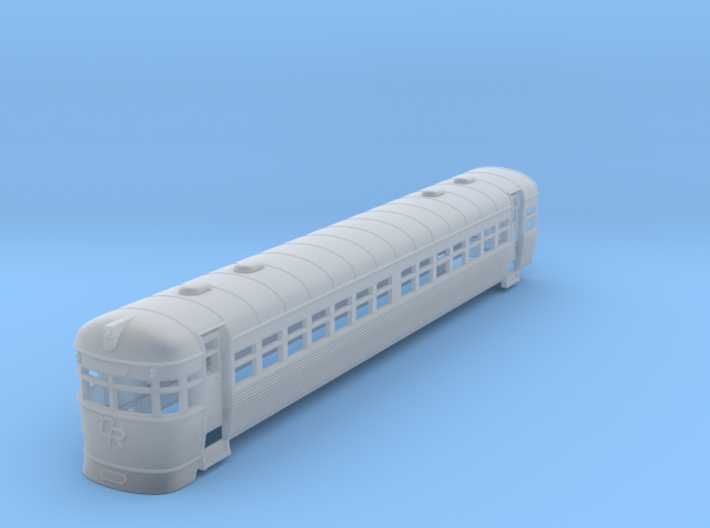 Queensland rail 2000 Railmotor no window bars. 3d printed
