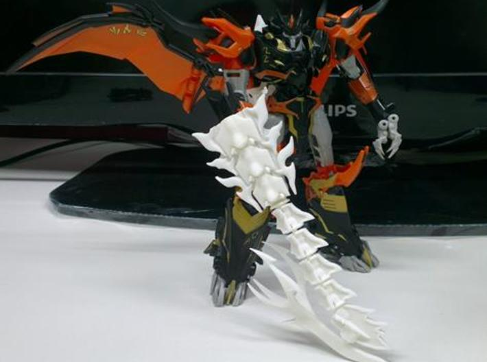 TFP Voyager Beast King Tail/Sword Complete 3d printed