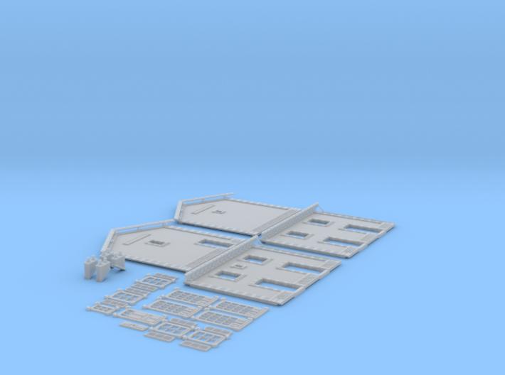 NGPLM20 Modular PLM train station 3d printed