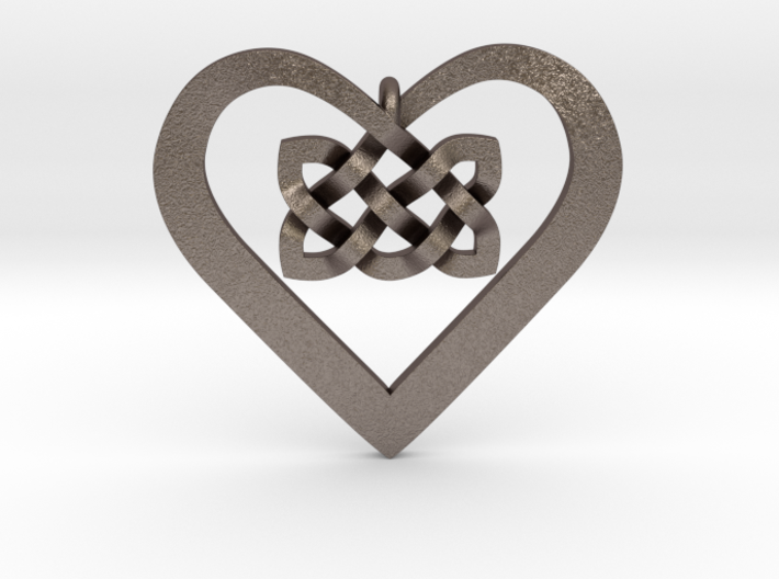 Coduro Celtic Heart 3d printed