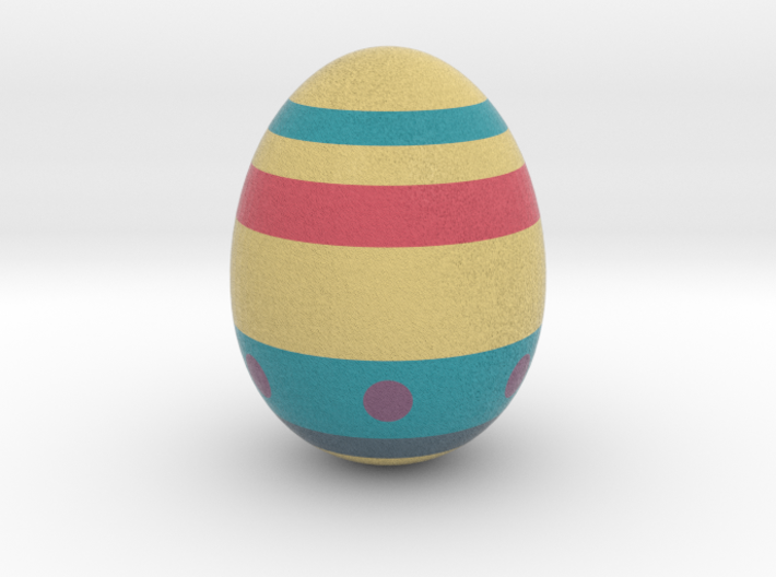 Racing For Eggs (real Egg Size) 3d printed