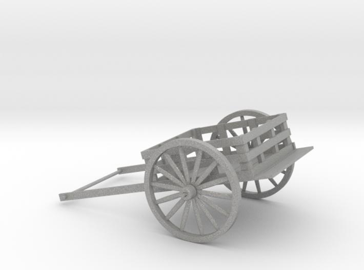 5 inch Pioneer Handcart 3d printed