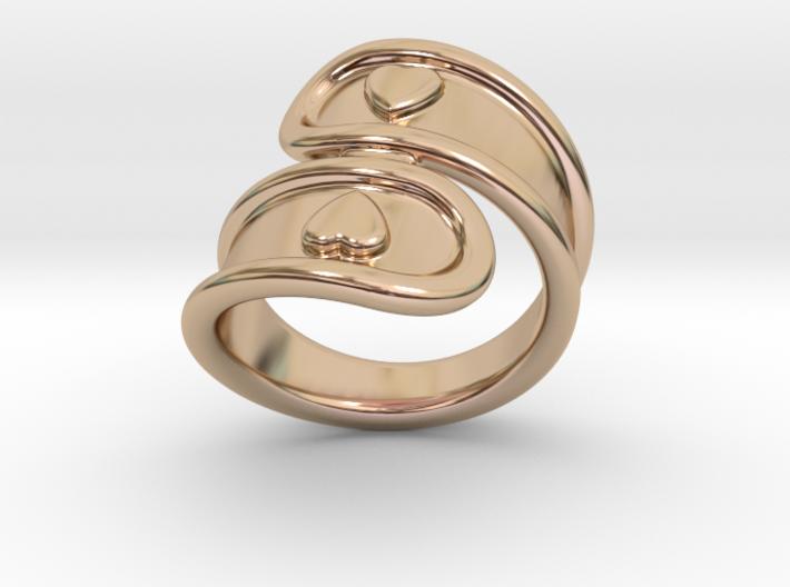 San Valentino Ring 32 - Italian Size 32 3d printed