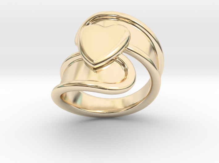 Valentinodayring 14 - Italian Size 14 3d printed