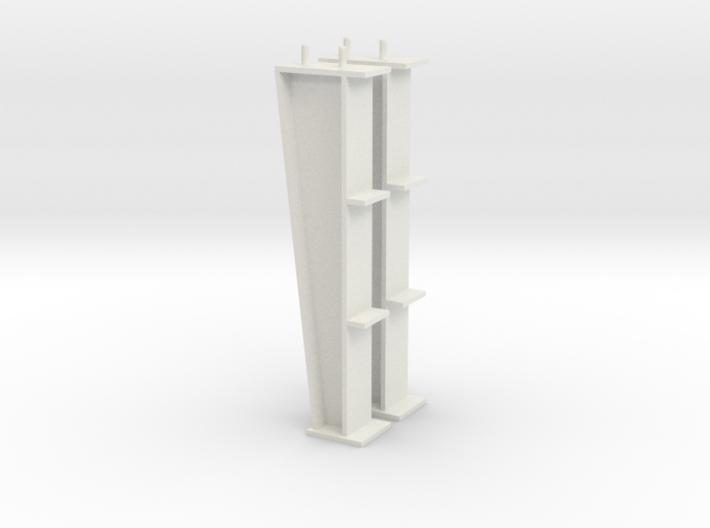 1/64 15ft I-beam Post 3d printed