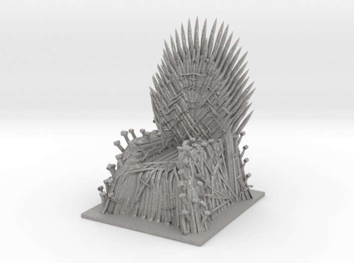 game of thrones trone 3d printed