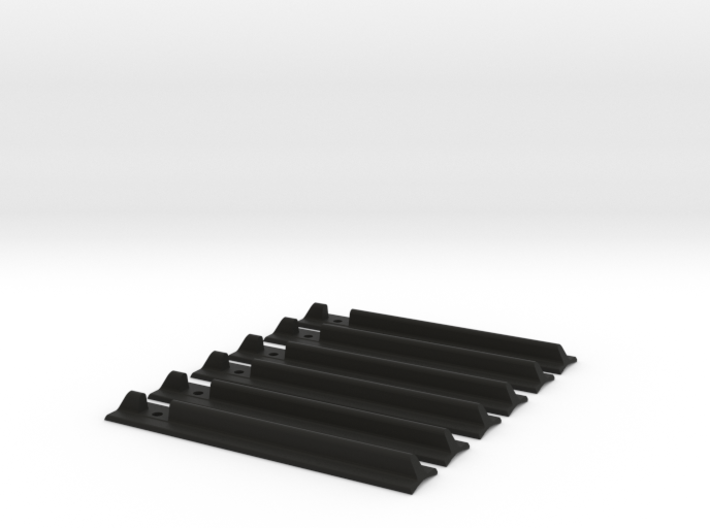 Lightsaber T-Track Grips 3d printed