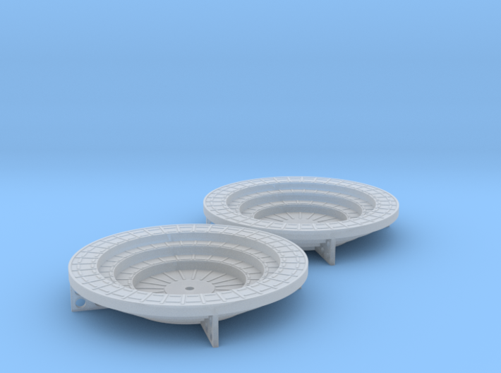Oerlikon Band Stands 4 supports 1/72 3d printed