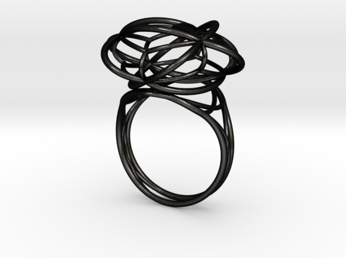 FLOWER OF LIFE Ring Nº1 3d printed