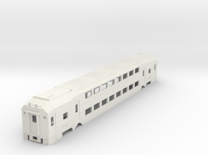 NJ Transit MultiLevel Coach N Scale 3d printed