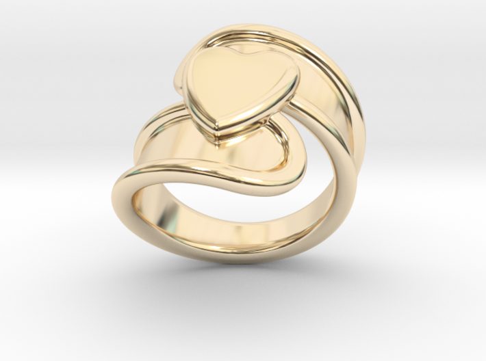 Valentinodayring 21 - Italian Size 21 3d printed