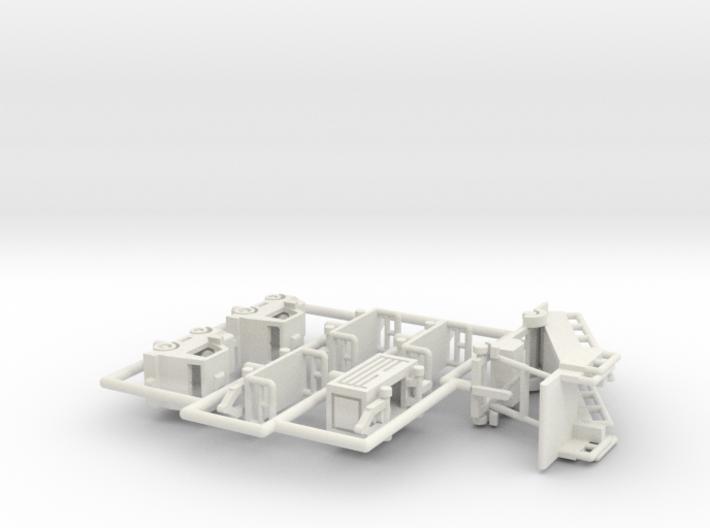 Flughafenzubehör - 1:220 (Z scale) 3d printed