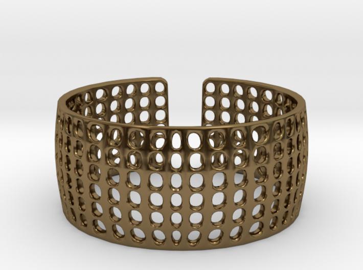 LOKA cuff 3d printed
