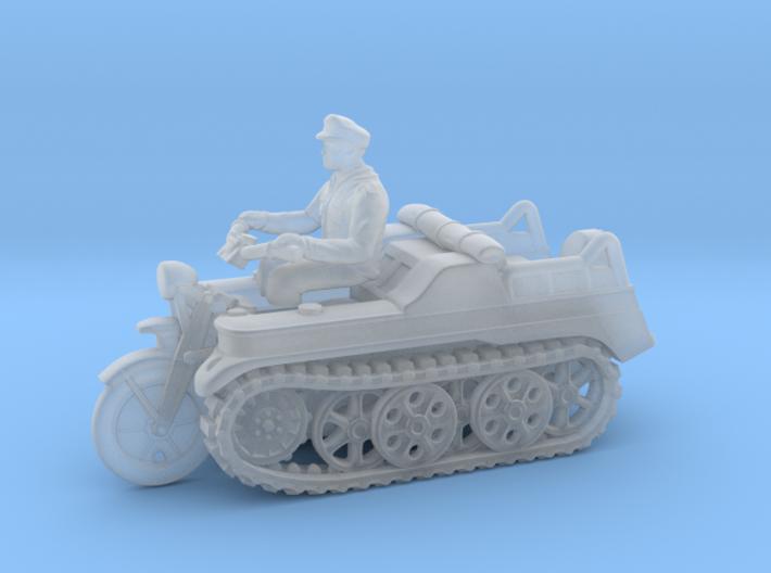 Sd.Kfz 2 - KETTENKRAD (1:87 - HO) 3d printed