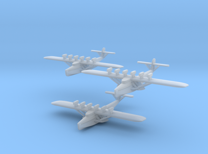 Do X 1/1250 scale Three Pack 3d printed