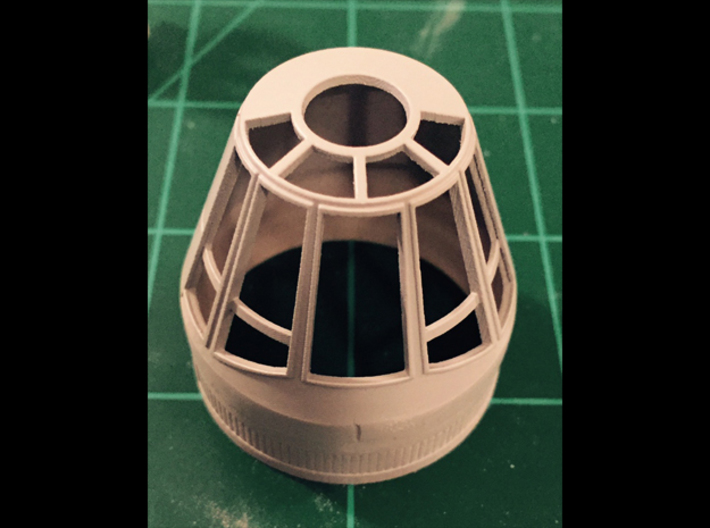 TFA SnapMax NoseCone 3d printed Primed with Tamiya fine primer