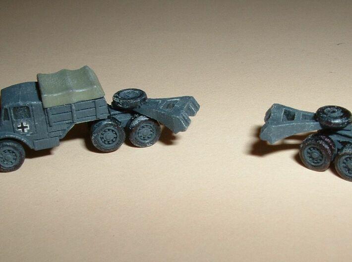 Hvy. Tank-Transporter Porsche Type 142 1/285 6mm 3d printed