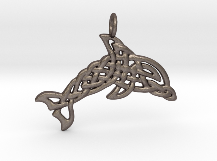 Celtic Sea Pendant 3d printed