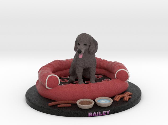 Custom Dog Figurine - Bailey 3d printed