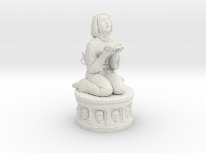 Arya Stark  (14 cm\ 5.51 inches) 3d printed
