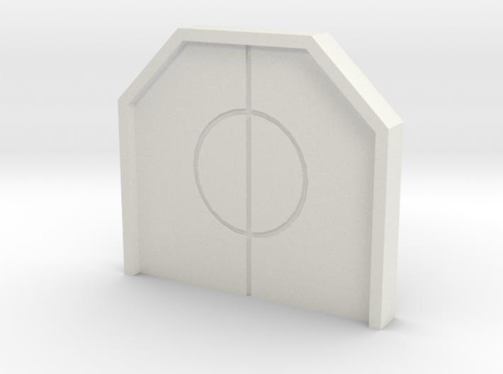 Hub Closed Door 3d printed