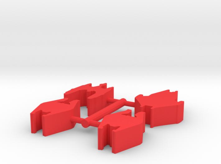 Game Piece, Reptoid 4-set 3d printed