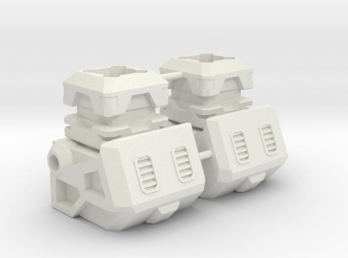 Aerial Team Combiner Knee Extension 3d printed