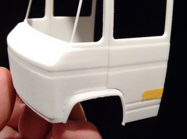 Mercedes Benz Dusseldorfer Front section 1/24 3d printed