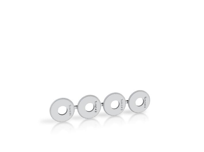 1/700 Pensacola & Salt Lake City Base Rings 3d printed