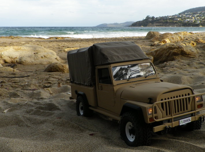 Jeep Cj10, J10, Perentie front end conversion for 3d printed