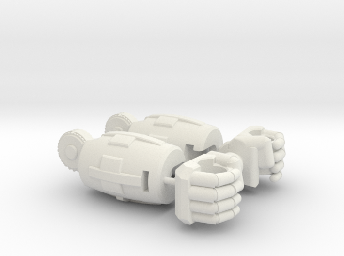 Fearsome Gust Arms and Fists 3d printed