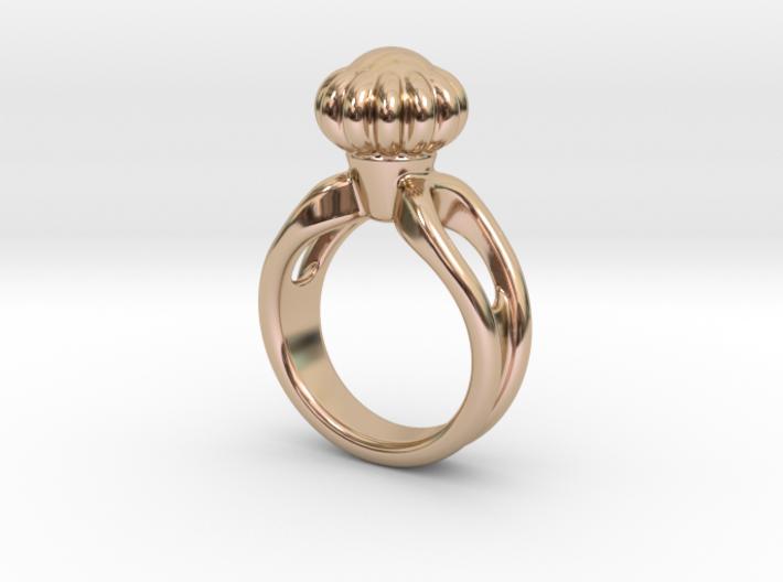 Ring Beautiful 15 - Italian Size 15 3d printed