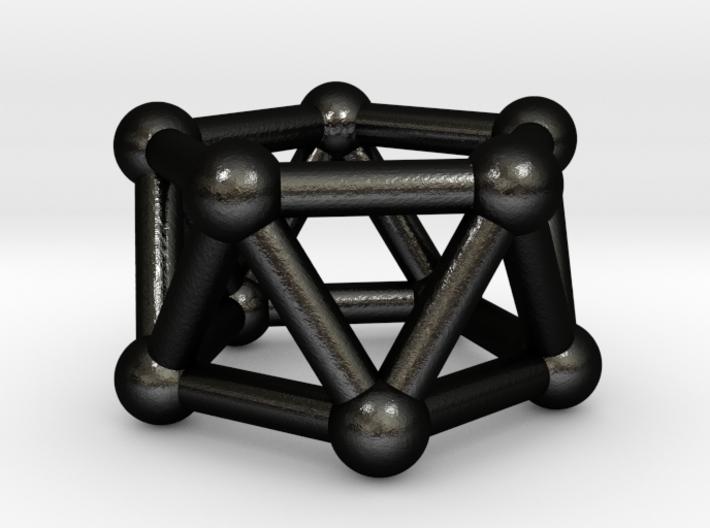 0438 Pentagonal Antiprism (a=1сm) #003 3d printed