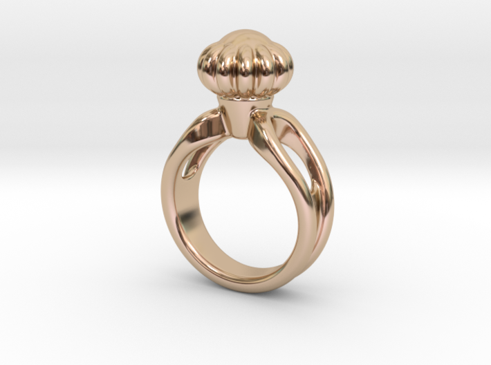 Ring Beautiful 24 - Italian Size 24 3d printed