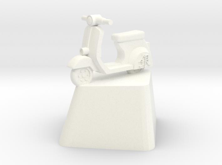 Gintoki Scooter Cherry MX Keycap 3d printed