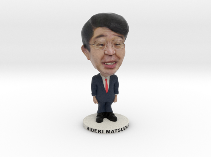 Uruyasu Mayor 3d printed