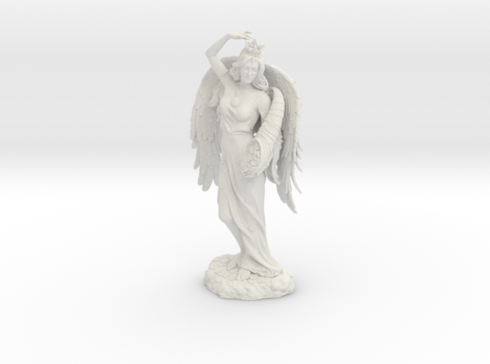 Goddess Fortuna 3d printed